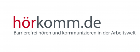 Logo: hörkomm.de