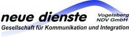 Logo: neue dienste Vogelsberg NDV GmbH